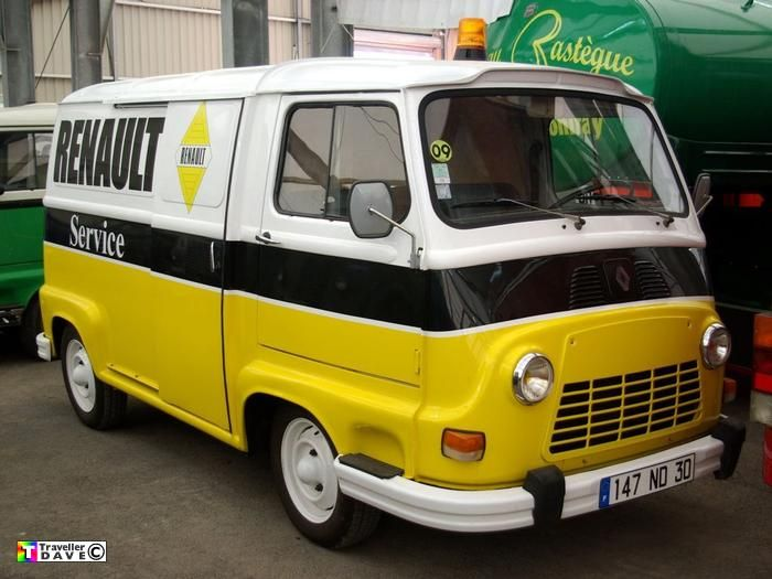 Hi Guys I Really Fancy Getting A Renault Estafette Van As A Cheap