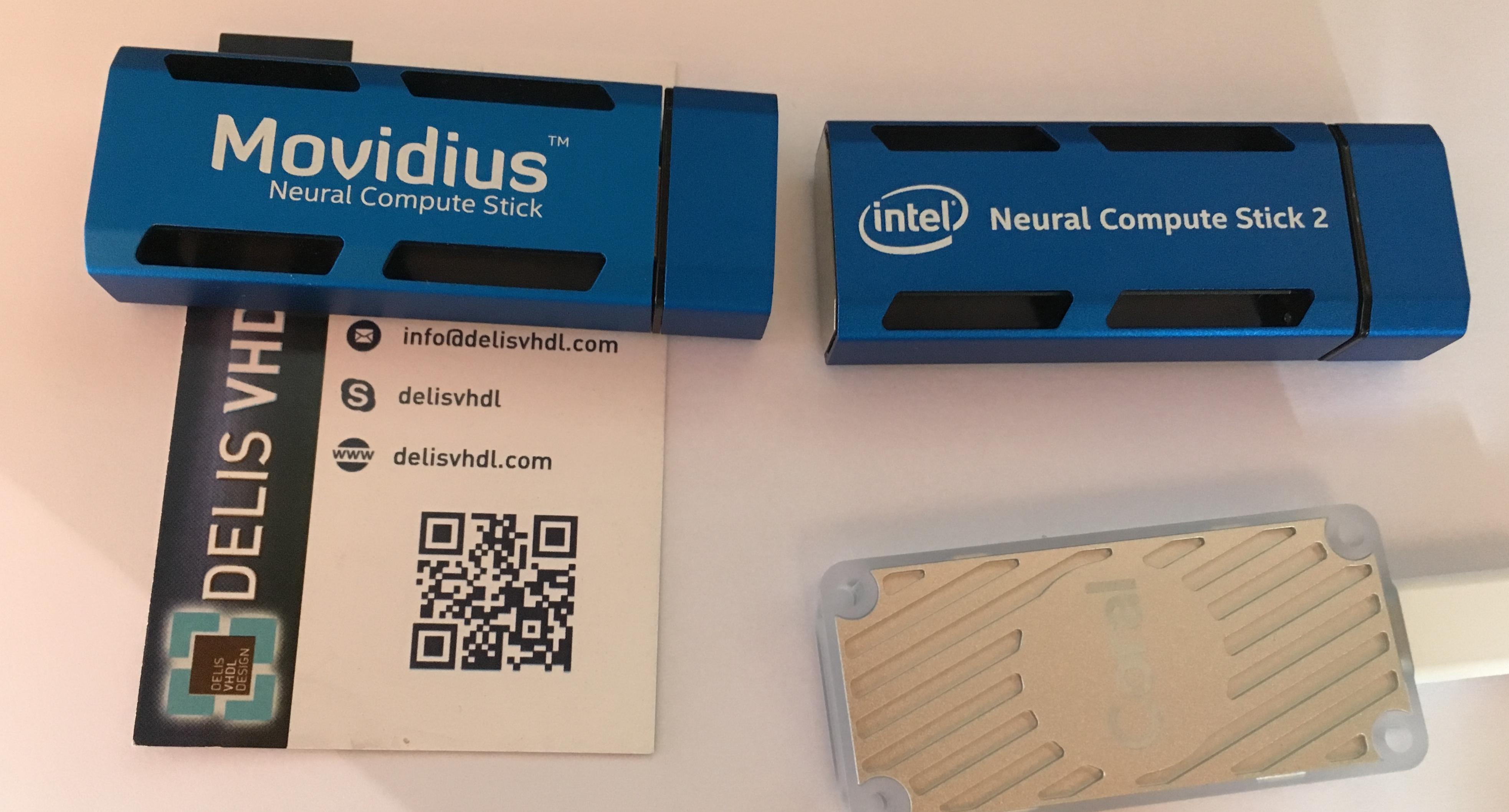 Intel acquired Movidius end of 2016, still, both Myriad 2