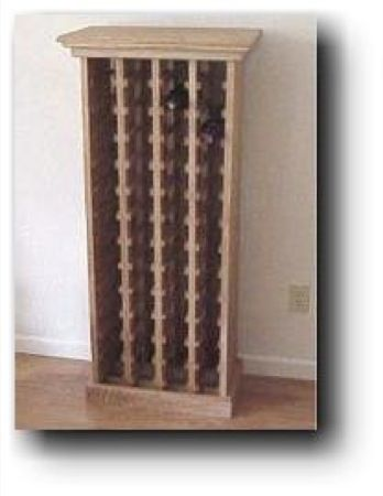 21 259 wine rack woodworking plan 52 bottles wood projects plans wine rack build a handsome stained cherry wood wine rack as a home woodworking project and expand it in this plan at first this do it yourself solutioingenieria Gallery