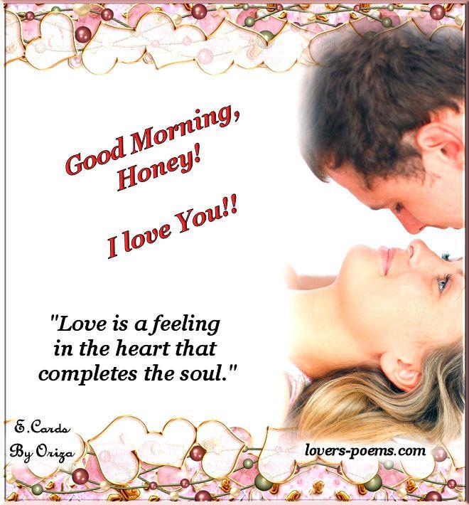 Good Morning Honey I Love You Good Morning Love Messages Good Morning Love Good Morning Love Sms