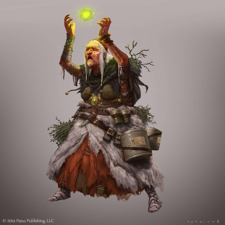 Paizo character