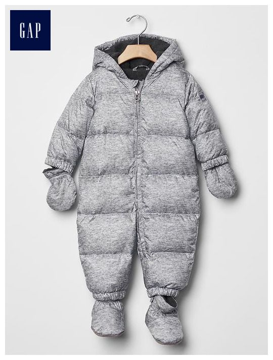 5e0fa7dc9 Warmest down snowsuit | Baby Gap Nov 15 | Baby snowsuit, Snow suit ...