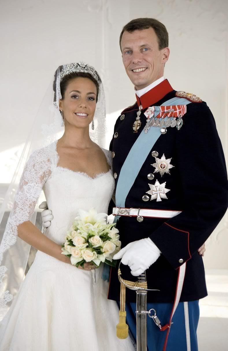 Wedding Dress of Princess Marie married to Joachim Prince of Denmark ...