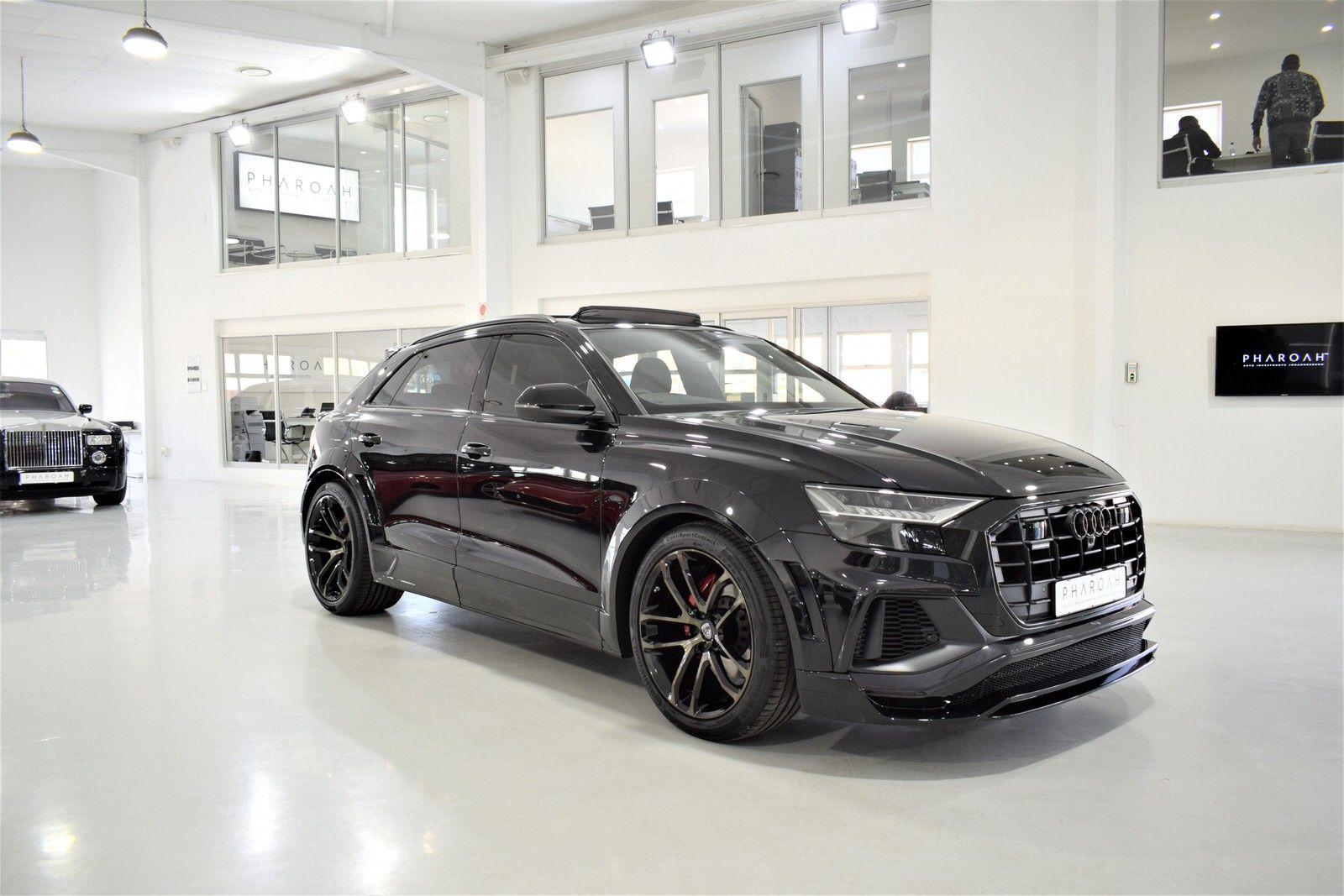 2019 Audi Q8 By Lumma Design Lumma Clr 8s Audi Q8 55tfsi Quattro Lumma Clr 8s In 2020 Audi Sports Car Black