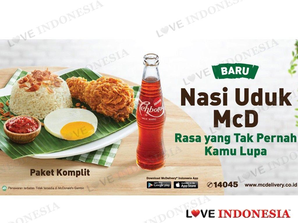McDonalds Indonesia Hadirkan Menu Nasi Uduk
