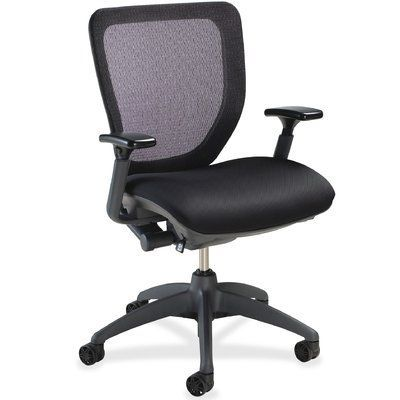 lorell ergonomic mid back mesh desk chair office ergonomics
