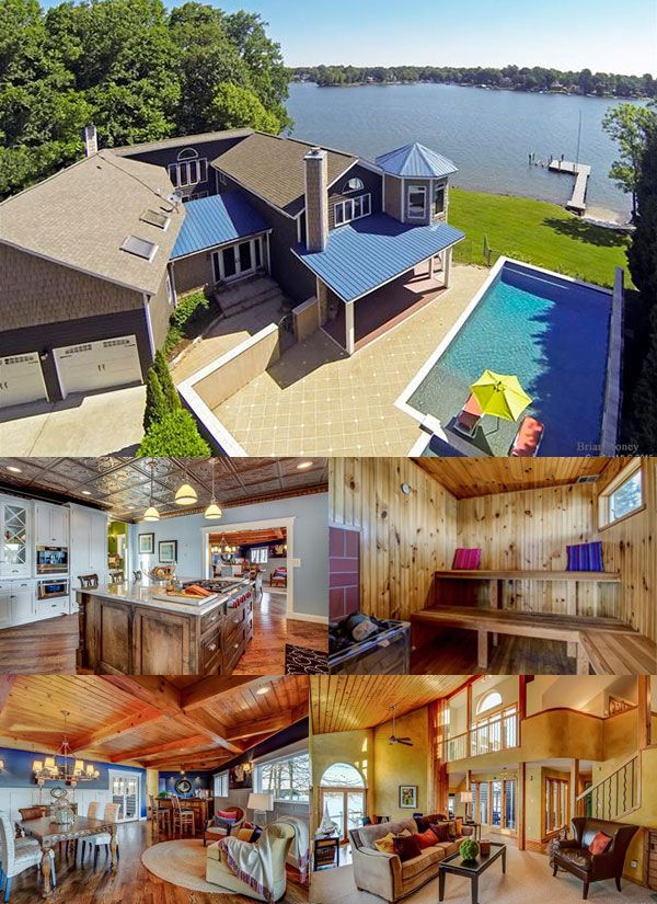 Top 5 Unique Lake Norman Homes For Sale Malibu Style Home Lake