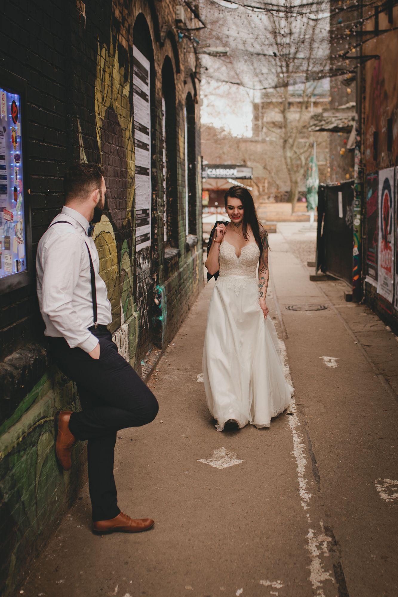 Alternative Tatowierte Braut Tatowierte Braute Heiraten Braut