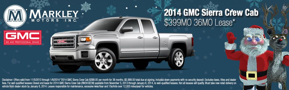 Get A Great Deal On A New Gmc Sierra At Markley Buick Gmc In Fort