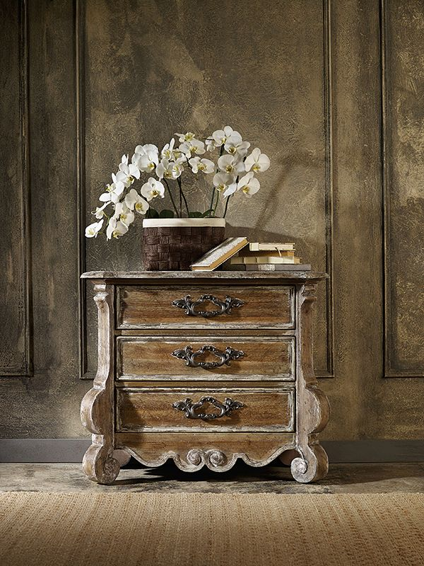 chest of drawers in shabby chic style chatelet collection hooker