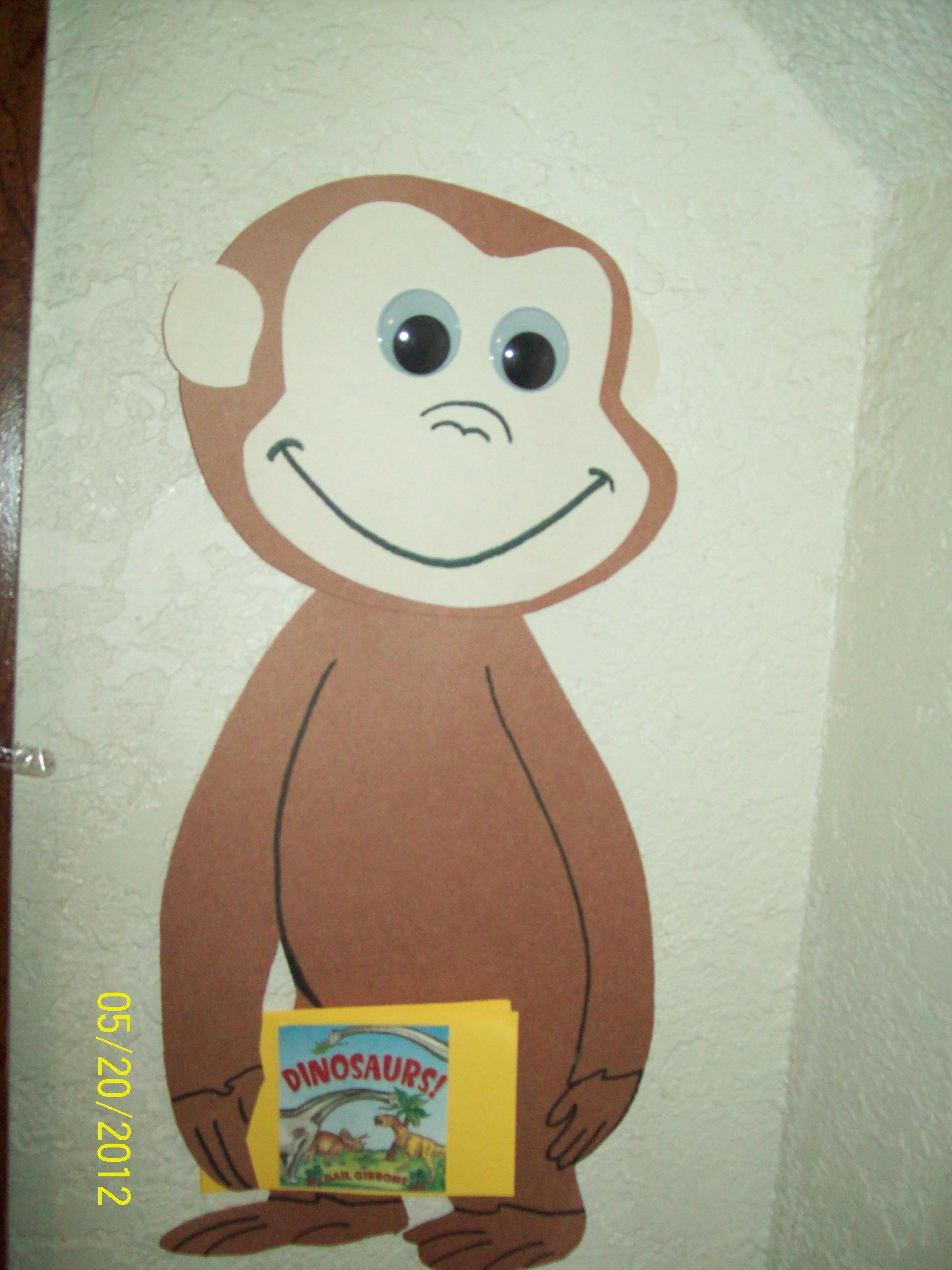 Curious George Preschool Craft
