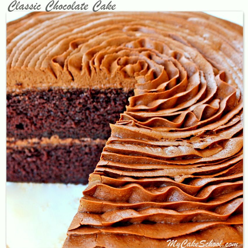 I need a chocolate cake recipe