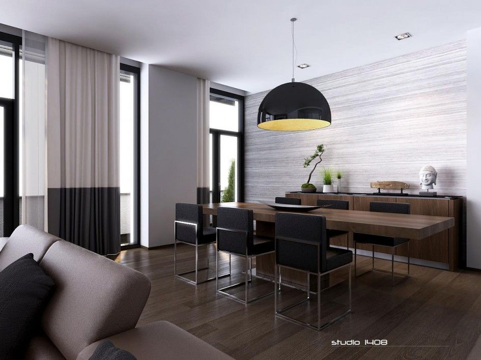Image Result For Modern Minimalist Dark Brown And White Apartment Enchanting One Bedroom Apartments In Nyc For Rent Minimalist Interior