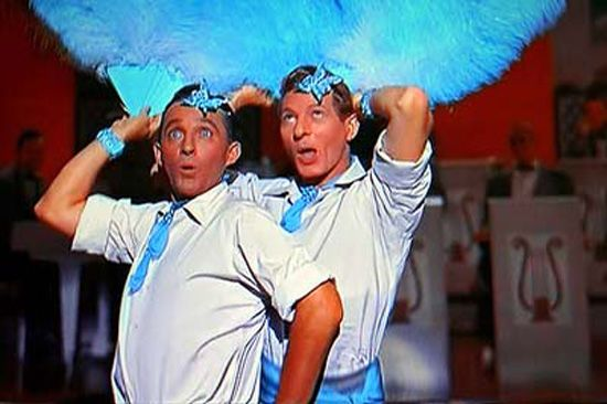 Danny Kaye, Bing Crosby, White Christmas, Sisters, Cross Dressing ...