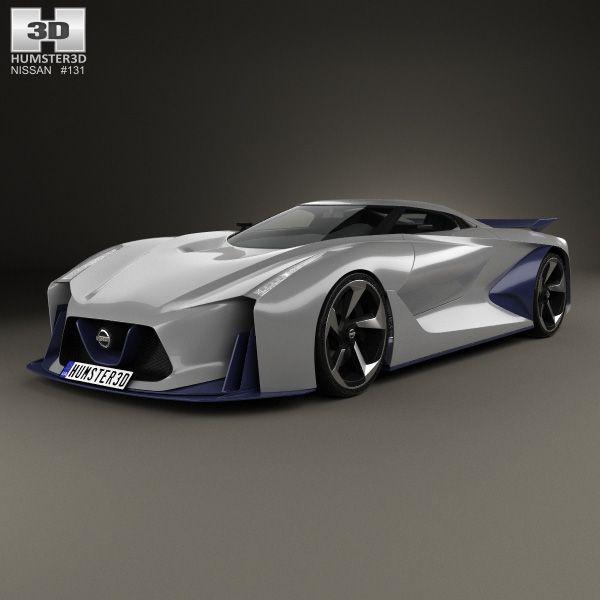 3d Model Of Nissan 2020 Vision Gran Turismo 2014 Nissan Turismo Car 3d Model