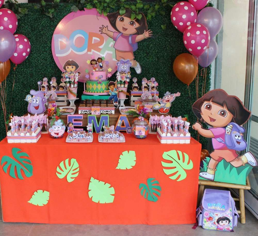 Dora Diego Birthday Party Ideas With Images Explorer