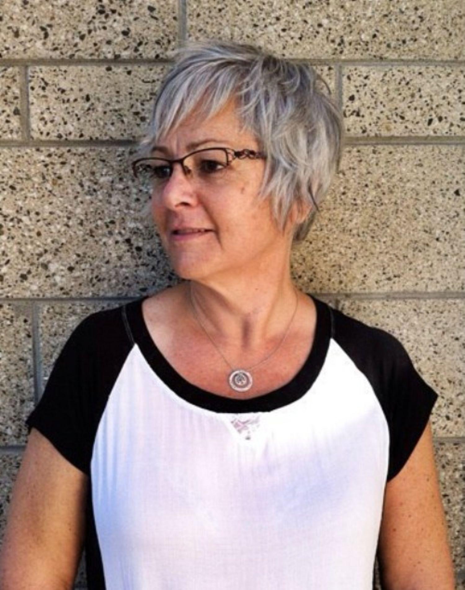 65 gray hair styles short grey hair hairstyles