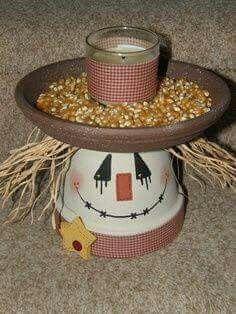 Fall bird feeder