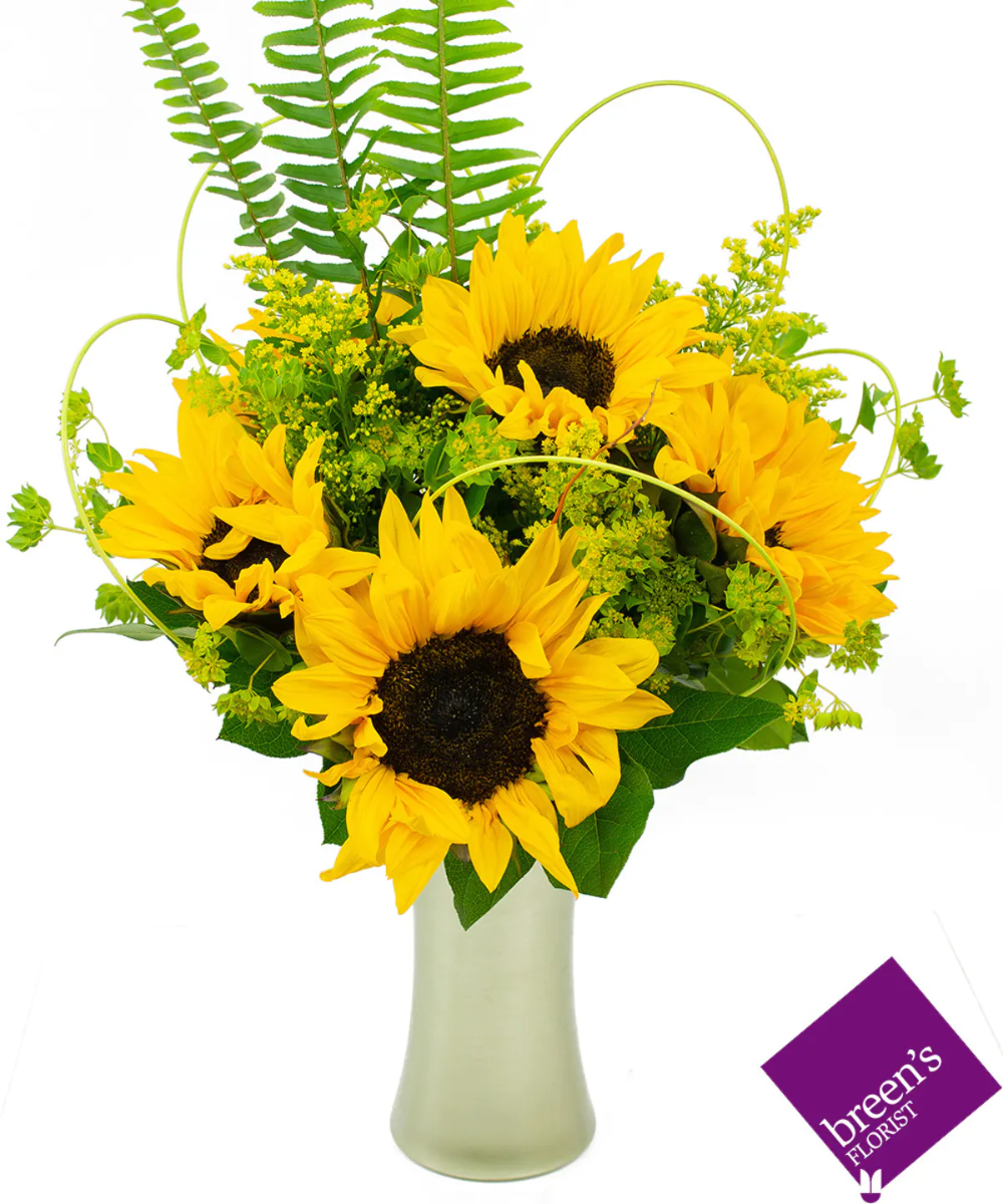 Sunflower Bouquet Same Day Flower Delivery Flower Delivery Sunflower Bouquets
