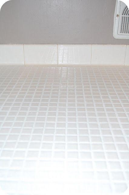 Re-grouting a tile floor | Bathrooms | Flooring, Bathroom ...