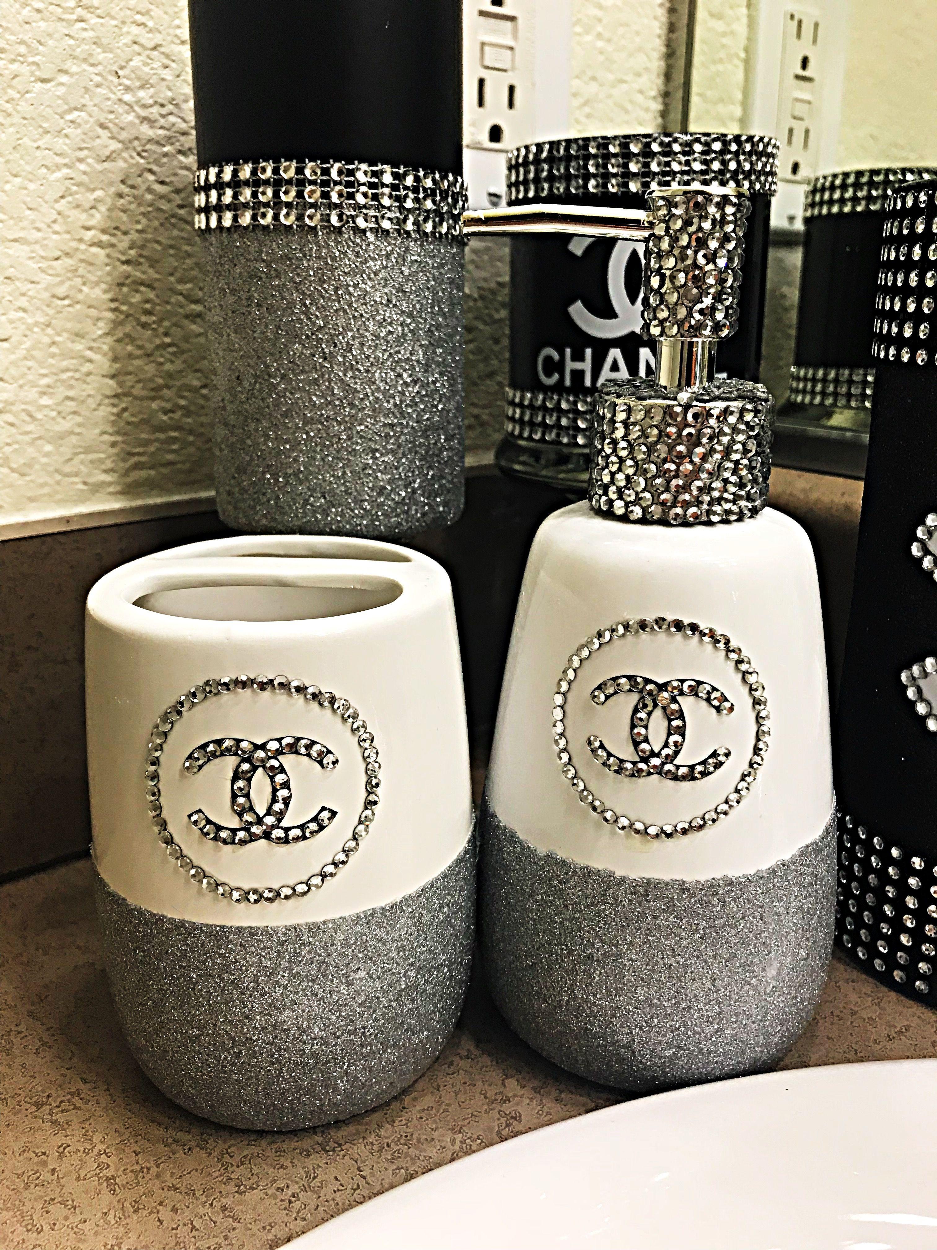 Chanel Bathroom Home Decor Cute And Stylish Chanel Decor