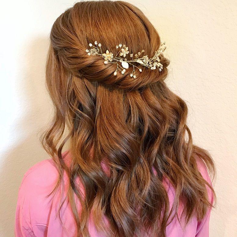 44 Gorgeous Half up half down hairstyles