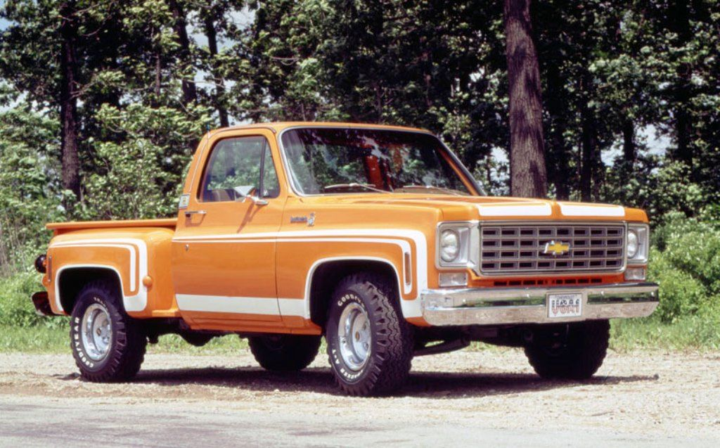 1976 chevy stepside body parts