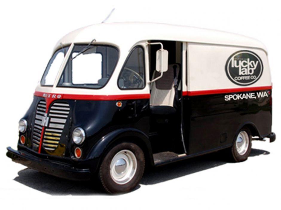 From The Wheels Up Van Step Van International Truck
