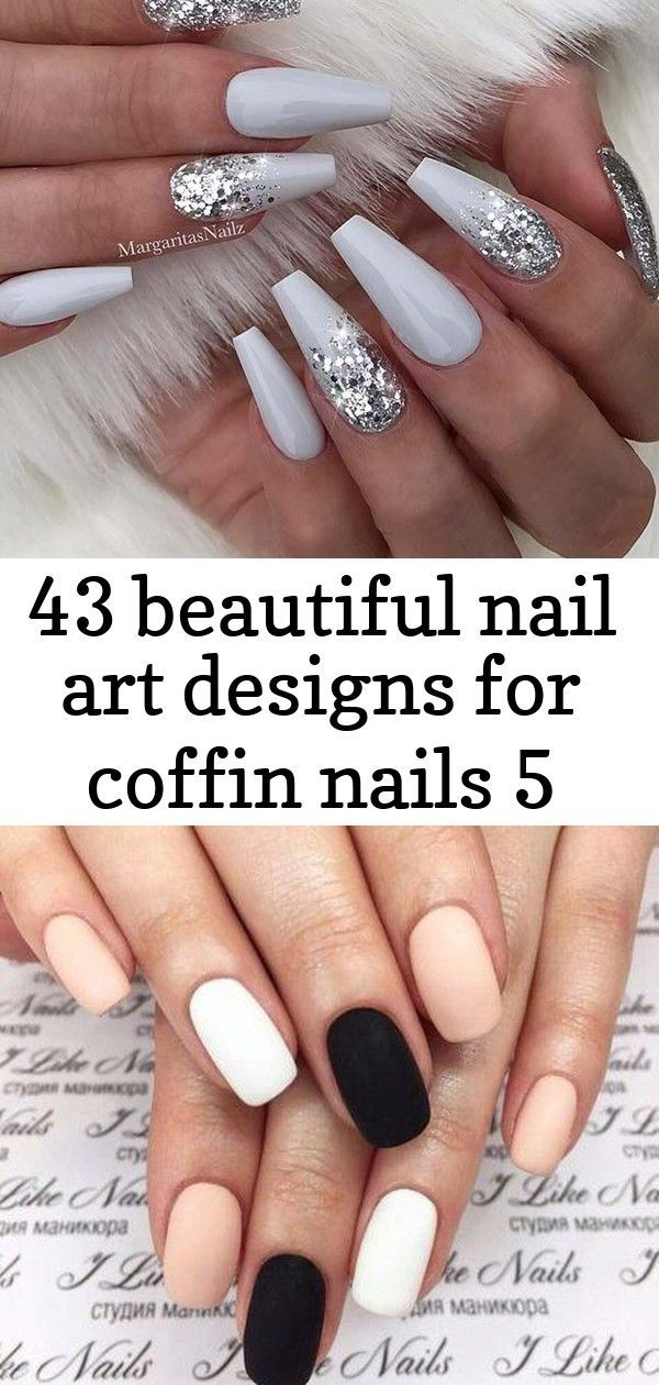 """Grey and Silver Glitter Coffin Nails Nails Pink Black White Simple 51 Ideas Magnifque Studio on Instagram: """" ❄️ …"""" 36 Trendy as well as Appealing Marble Coffin Nails Design – Page 6 – My Beauty Note   black nails with glitter silver grey #nails #indigonails #indigonailslab #indigolove #moussegel #winternails #winter #winternails #winterinspring #xmasdecor #xmasnails #nails #vegetablesrecipies"""