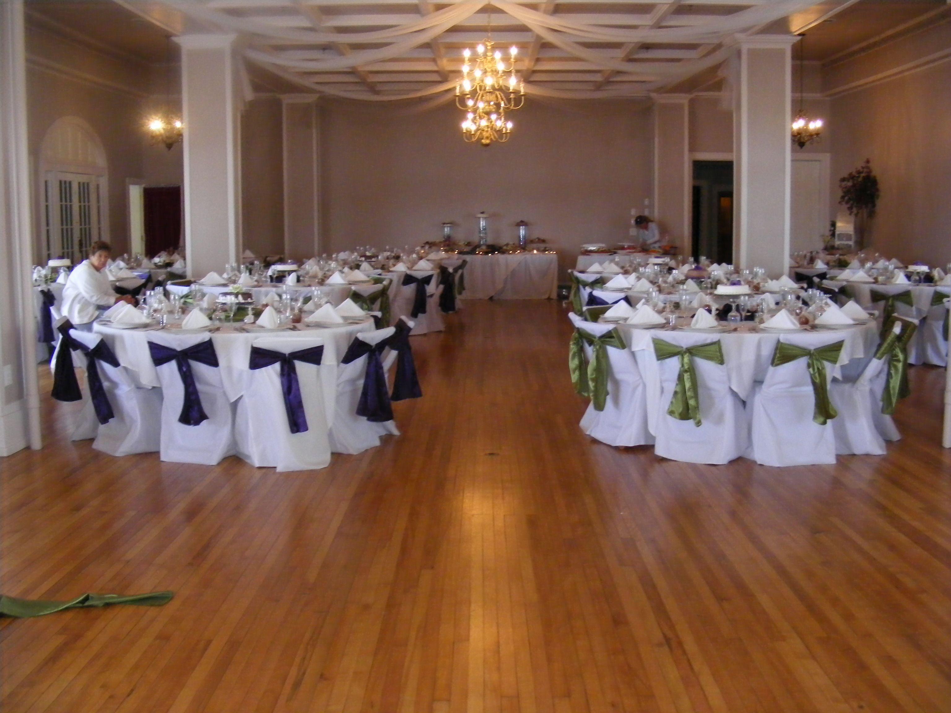 Ballroom Hotel Conneaut Home Town Table