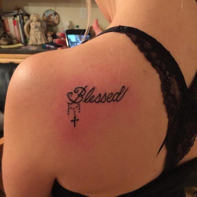 407929ce03063 blessing tattoos. 65 spirituelle wirklich gesegnete Tattoo Designs ...