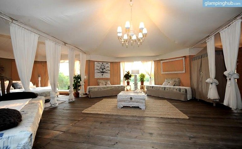 Luxury glamping tents near venice italy in 2020 luxury