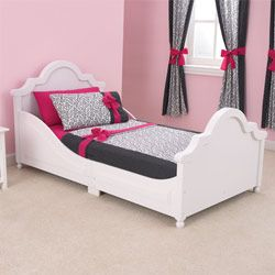 This Raleigh Toddler Bed features an elegant headboard and ...