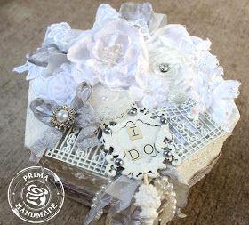 "ILuvVintageScrap: Prima ""I Do"" Wedding Keepsake Box"