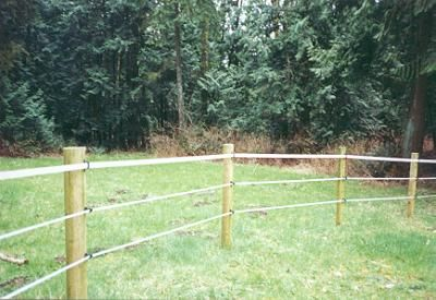 poly tape horse fencing field guardian 2in polytape classic 10 rh pinterest com install electric horse fence Install Electric Fence Wire