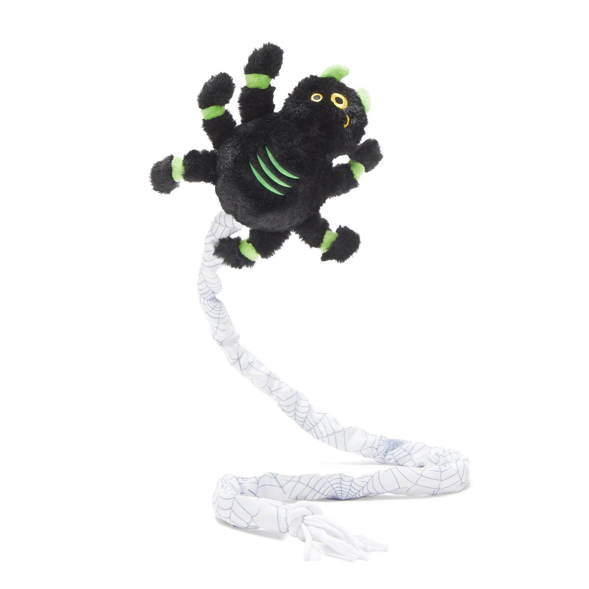 Bark Spider Dog Toy Harriet The Spider Black Spider Dog Dog