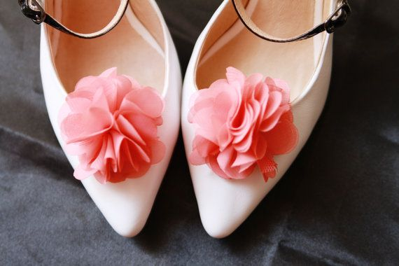 Wedding Floral Shoes Brooches Shoes Accessories Clips for Shoes Bridal Shower Gift Navy Blue Flower Shoes Clips Bridal Shoe Clips