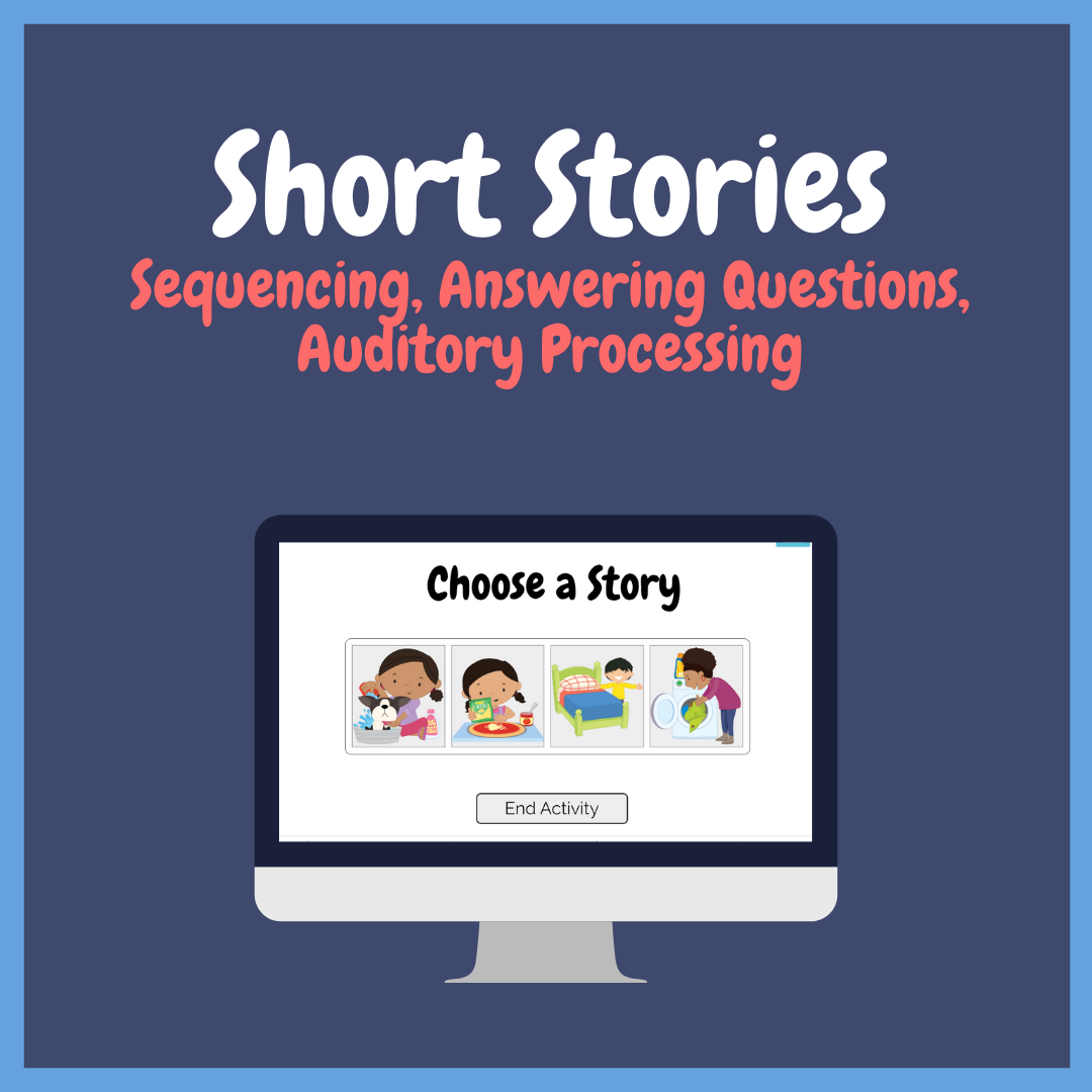 Short Stories Sequencing Auditory Processing And