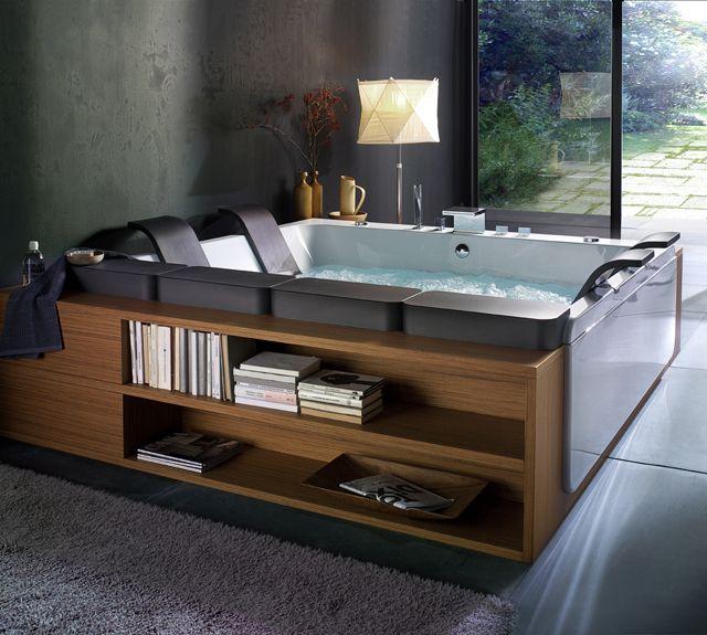 Thais Art Whirlpool Bathtub Design Indoor Hot Tub Bathroom Design