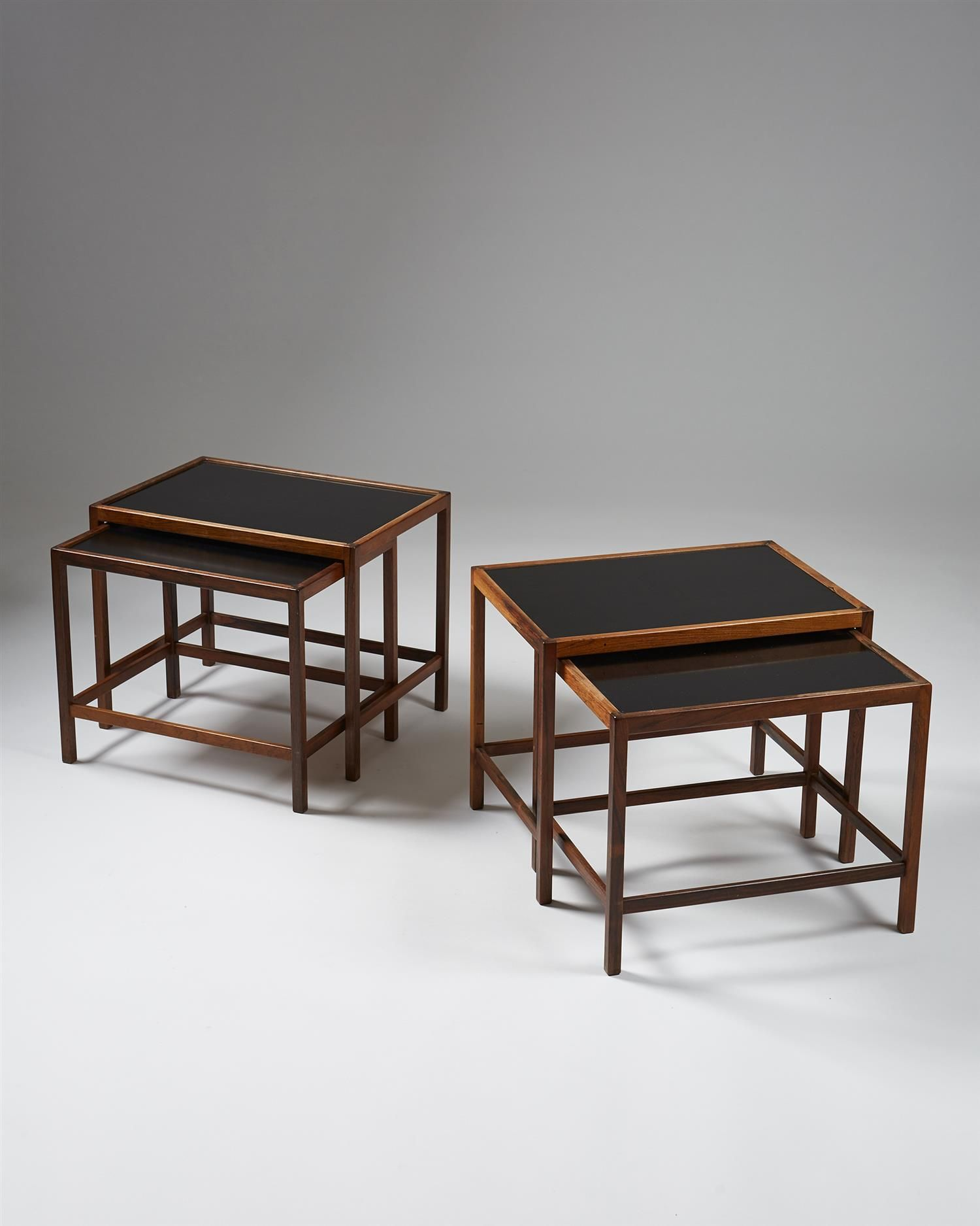 Nest Of Tables Designed By Kurt Ostervig For Jason Modernity Table Nesting Tables Coffee Table Desk