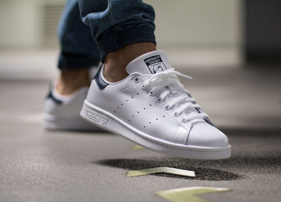Adidas  5hfj6e 8 Stan Smith Shoes White Core White  Running White  New Navy Purchase New Style TopDeals