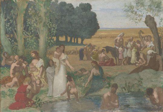 Summer before 1873, Pierre-Cécile Puvis de Chavannes