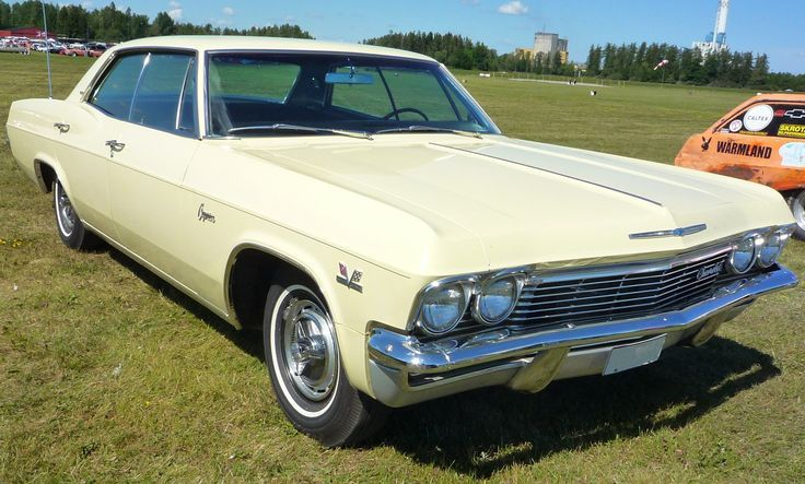 1965 Chevy Caprice 4dr Hardtop In Butternut Yellow The First