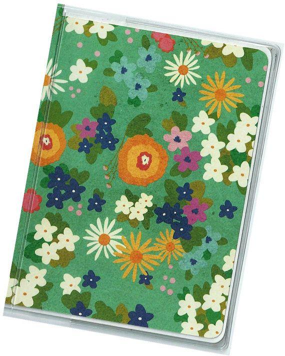 Passport Cover  Picnic Floral passport holder by rabbitholeonline, $5.25