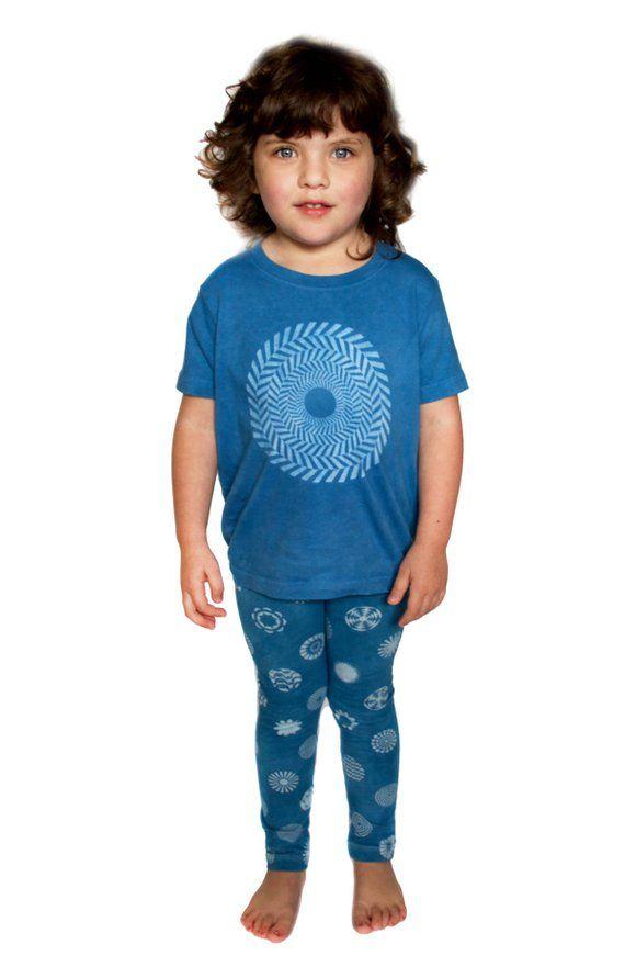816533d970e8 T-shirt - Polka Dot - Hand Dyed Indigo - Kid's shirt - Kid's t-shirt - Baby  Shirt - Indigo - Boys -
