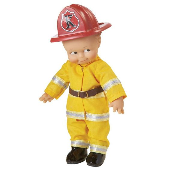 Kewpie doll Fireman Kewpie (US shipping included!)