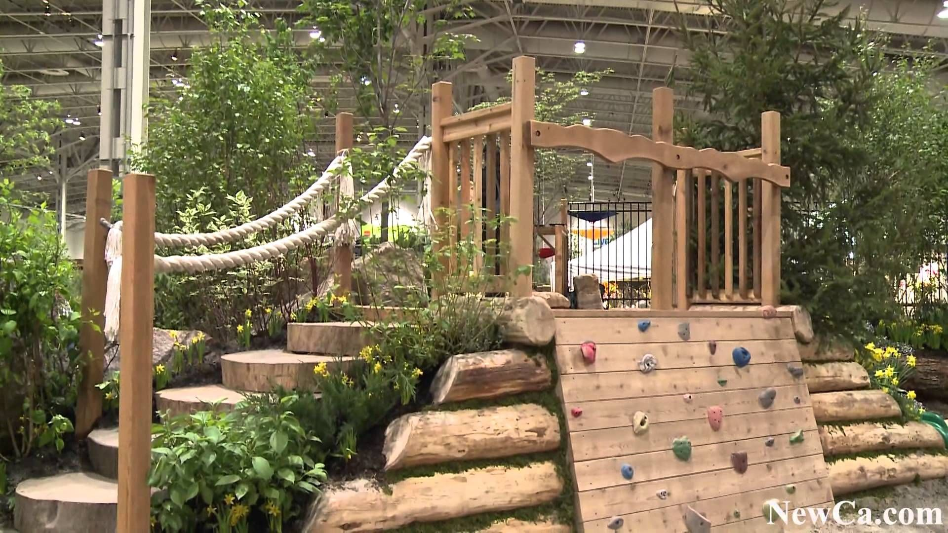 Bienenstock Natural Playgrounds at 2012 Canada