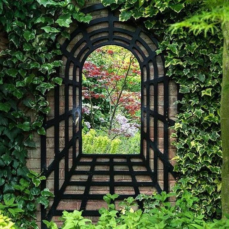 40 Intelgent Wall Mirrors Ideas Dor Outdoor Garden Garden