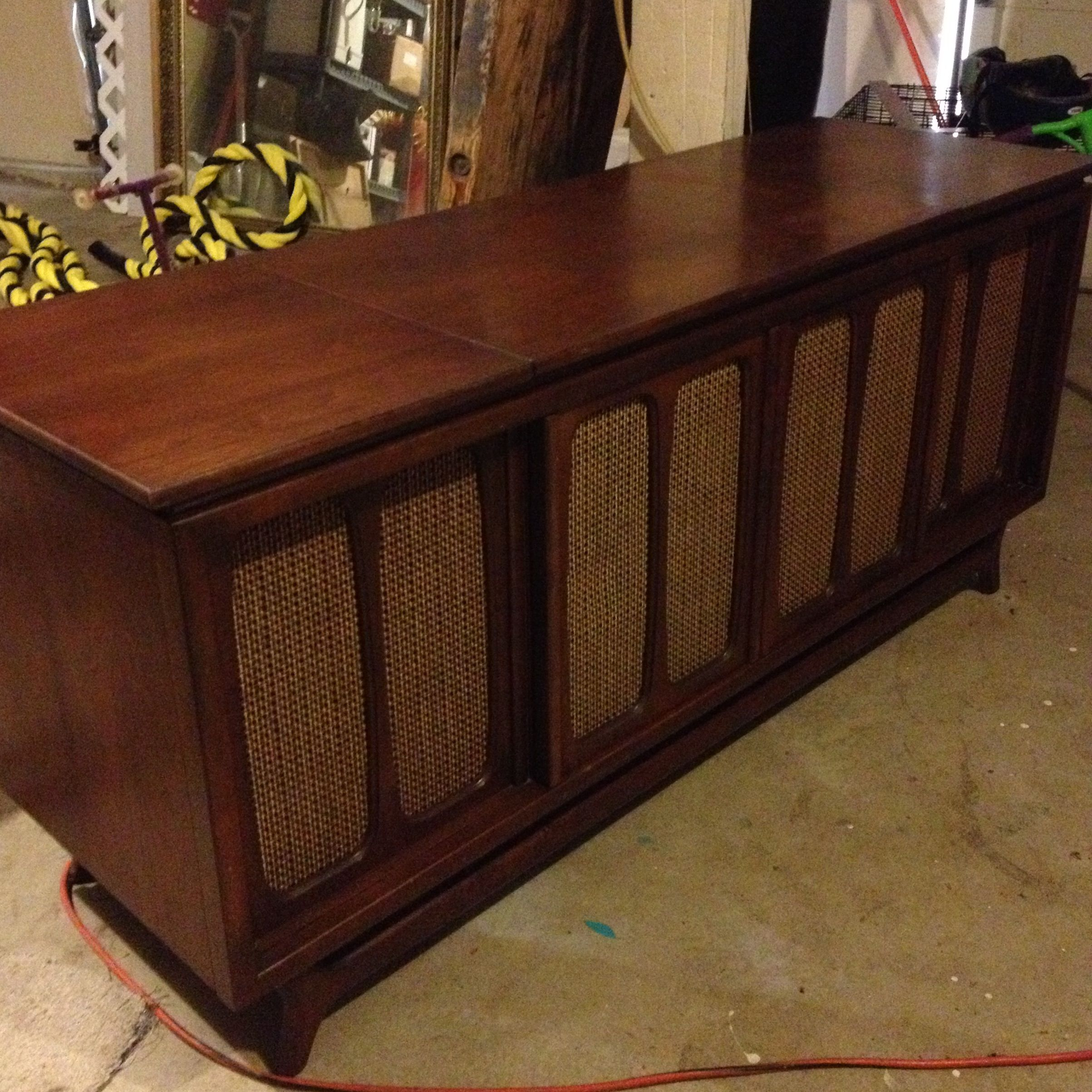Obsessing! 1960s Packard Bell Lp, Radio, TV Console  And