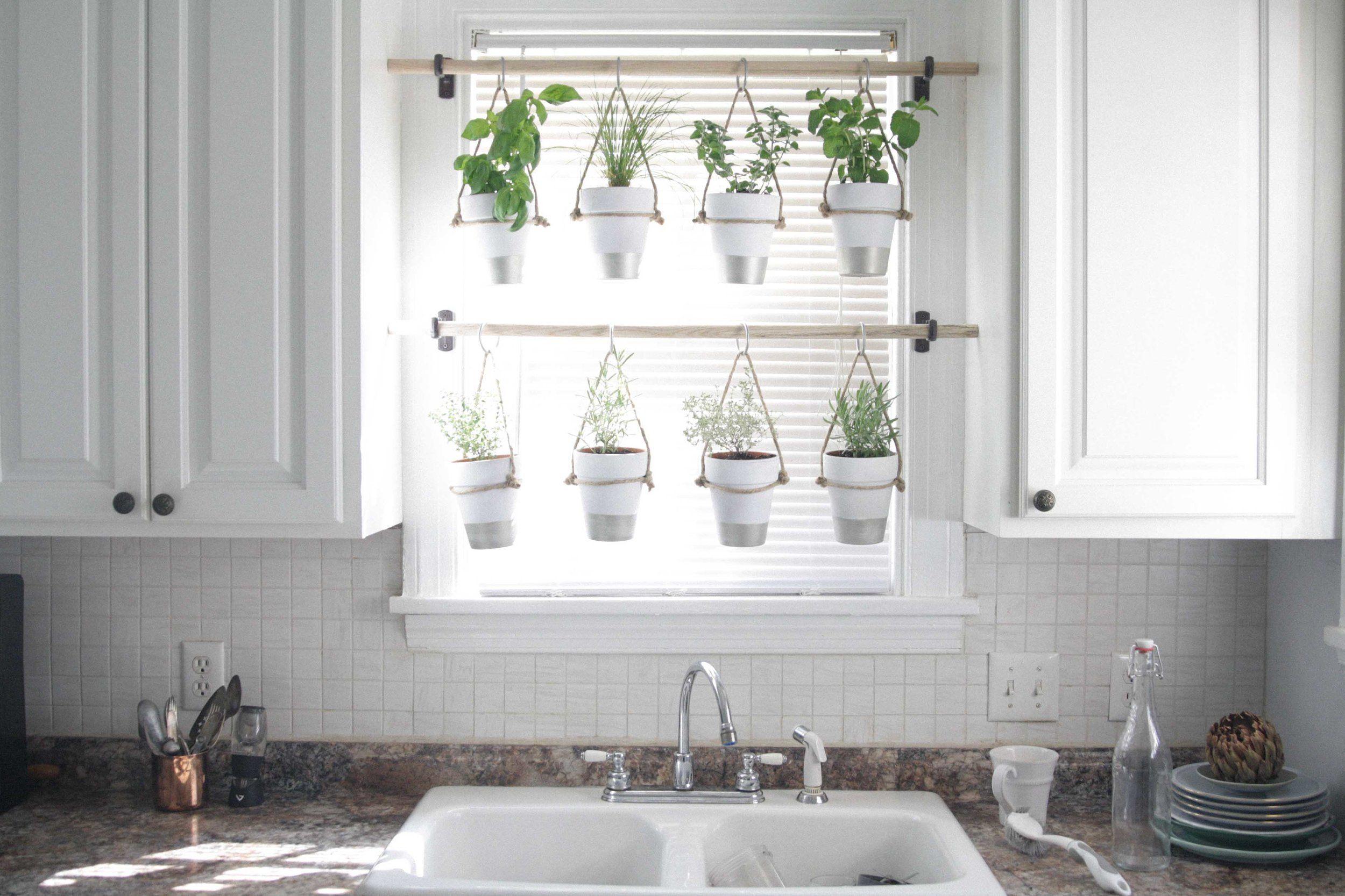 Diy Indoor Hanging Herb Garden Learn How To Make An 400 x 300